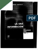 64013226 Castells Manuel La Era de Al Informacion Parte 1