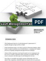 Cash Mgt Services