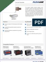 FlowLine Level Transmitter Contact DeltaSpan LD30 Data Sheet