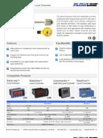 FlowLine Level Transmitter Contact FloaTek LV55 Data Sheet