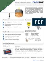 FlowLine Level Transmitter Contact DeltaSpan LD31 is Data Sheet