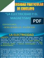 """""""ELECTRICIDAD Y MAGNETISMO"""""""
