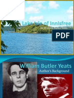 A Utopian View on William Butler Yeats' The Lake Isle of Innisfree.pptx