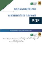 aproximacion funciones