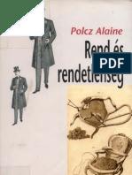 Polcz Alaine Rend s Rendetlens g d