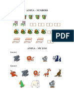 Anexa Numbers My Zoo fisa engleza