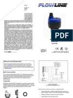 FlowLine Level Transmitter Ultrasonic EchoPod DX10 Quick Start