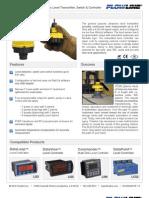 FlowLine Level Transmitter Ultrasonic EchoPod DL24 Data Sheet