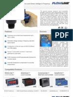 FlowLine Level Transmitter Ultrasonic EchoPod DX10 Data Sheet