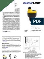 FlowLine Level Transmitter Ultrasonic EchoPod DL14 Quick Start