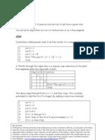 Decision Maths 1 Algorithms