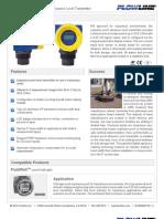 FlowLine Level Transmitter Ultrasonic EchoSafe XP88 XP89 Data Sheet