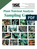 Plant Tissue Sampling Guide 2013