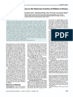 Short-TermEffectofOzoneonthePulmonaryFunctionofChildrenin Primary