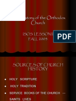 New Volume History of Orthodoxy