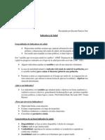 Papers de Indicadores de Salus Para Bases