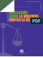 Manual de Legislación Sobre la Violencia Contra la Mujer - ONU 2010