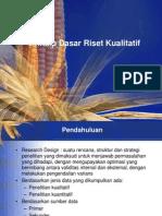 K.11. Prinsip Dasar Riset Kualitatif