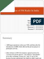 Fm Radio Ppt
