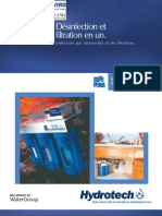 Water Disinfection UV PURA UV1-EPCB Ultraviolet Water Disinfection System FRENCH Brochure