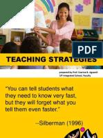 Teaching Strategies May 24 2011