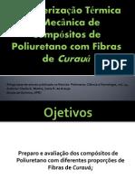 Caracterizacao Termica e Mecanica de Compositos de Poliuretano
