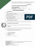 Formatos Conciliacion Rm 235 2009 Jus