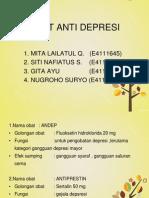 Obat Depresi Kel 8