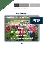 Guia - Formulación Estudios de Impacto Ambiental