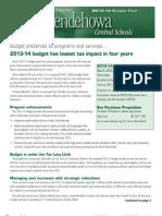 SHEN Budget Flyer