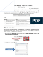 Clasificación Digital de Imágenes en ArcGIS 10