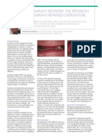 Implantology Article Primary Dental Journal