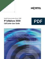 CS1000 Nortel i2050 IP Softphone Callcenter User Guide English 03