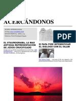 Acercándonos - Revista Mensual Interreligiosa. Abril 2013