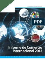 Informe de Comercio Internacional 2012