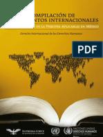Compilación de instrumentos internacionales sobre protección de la persona aplicables en México