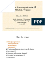 Cours Introduction IP