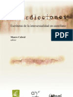 Interdicciones. Escrituras de la intersexualidad en castellano.