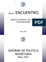 Presentación IPOM Mayo 2007 V Corbo