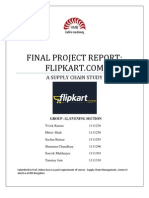 Flipkart SCM Report Group 12