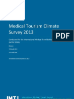 Medical Tourism Climate Survey 2013