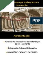 12 colunas  de sustentação em power point 2