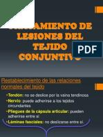 Tratamiento de Lesiones Del Tejido Conjuntivo(1)