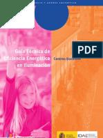 Guia_Tecnica Eficiencia Energetica Iluminacion Colegios