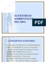 Auditorias Iso 19011
