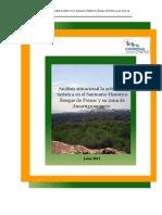 Analisis situacional de la actividad Turística en el SHBP