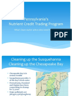 Pennsylvania's proposed changes to nutrient trading program