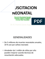 Reanimacion Neonatal Hcva