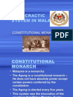 13. Democractic System in Malaysia