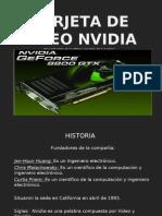 Tarjeta de Video Nvidia